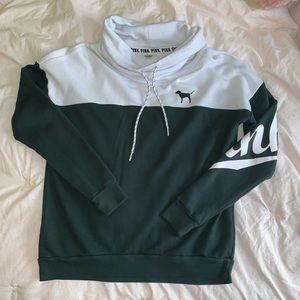 VS Pink oversized hoodie sz xs